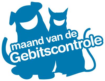 Maand van de gebitscontrole hond en kat