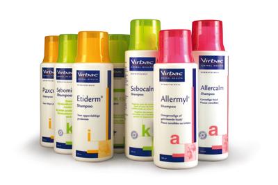Dermatologische shampoos
