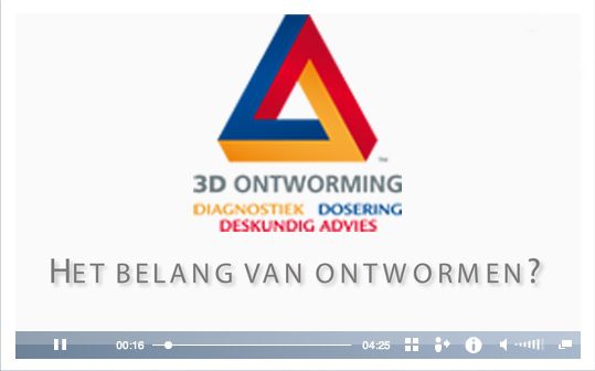 3D Ontworming Paard, het belang van ontwormen?