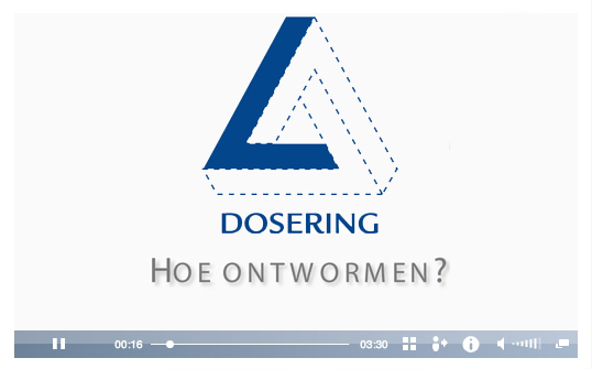 3D Ontworming Paard, hoe ontwormen?