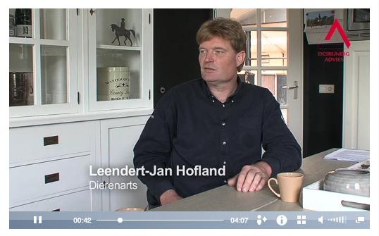 3D Ontworming Paard, opnames 3D video's Leendert Jan Hofland
