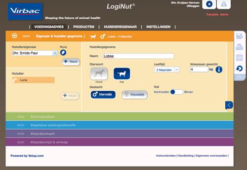 LogiNut - het logische nutritionele advies