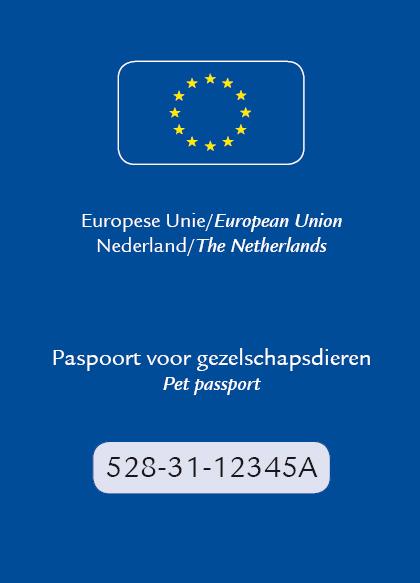 Europees paspoort voor gezelschapsdieren